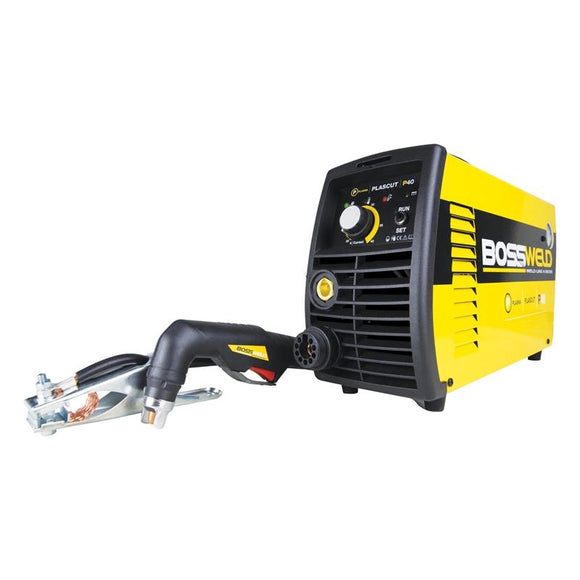 Bossweld 40a Inverter Plasma Cutter With 15a Plug [P40]