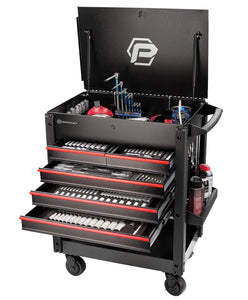 196pc Service Cart & Tools