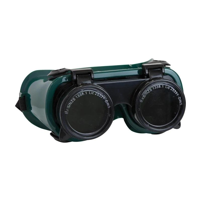 Bossweld Gas Welding Flip Up Goggles - Shade 5