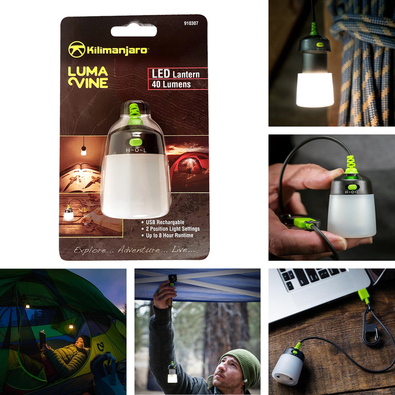 LED Rechargeable Mini Lantern Light