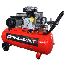 POWERBUILT Air Compressor 100L 3hp Belt Drive