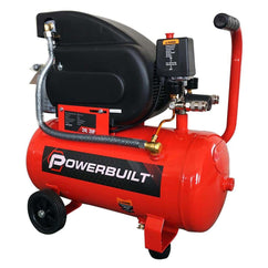 POWERBUILT Air Compressor 24L 2hp Direct Drive