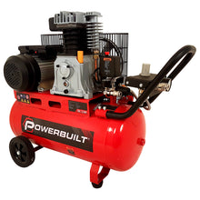 POWERBUILT Air Compressor 50L 2.5hp Belt Drive