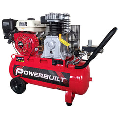 POWERBUILT Air Compressor 50L, Petrol Engine