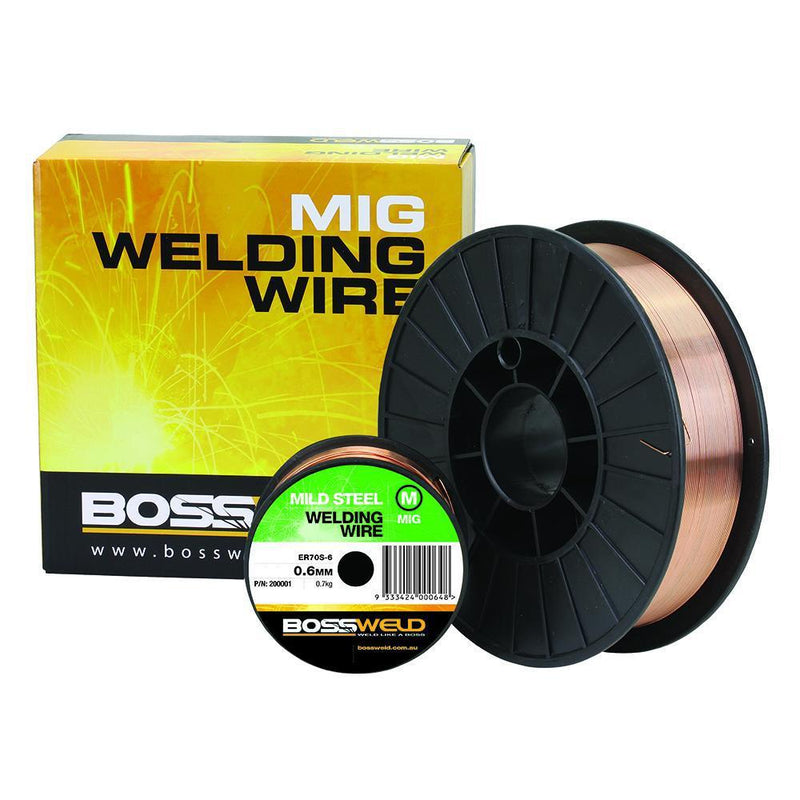 Bossweld Mig Wire - 0.6mm x 5kg