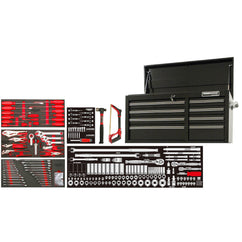 "POWERBUILT 253pc 41"" Tool Chest & Assorted Tools"