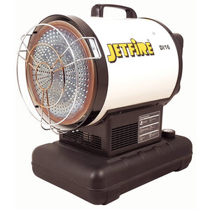 JETFIRE 16kW Diesel Radiant Heater-Heater-Jetfire-Herbos Equipment Limited