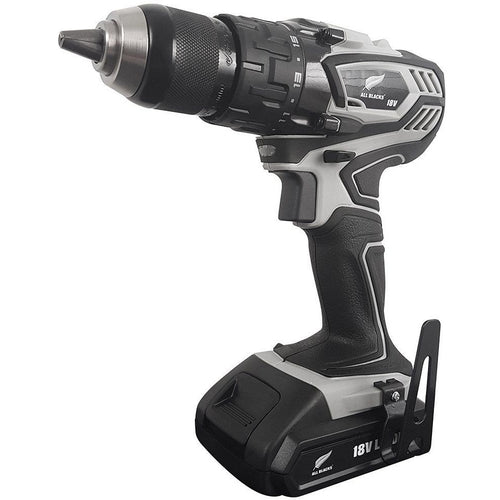 ALL BLACKS - 18V Lithium-Ion Heavy-Duty Cordless Drill-Cordless Drill-Herbos Equipment Limited-Herbos Equipment Limited