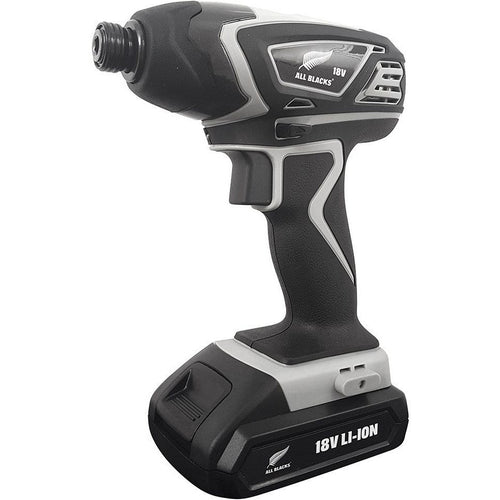 ALL BLACKS - 18V Lithium-Ion Heavy-Duty Cordless Impact Driver-Impact Driver-Herbos Equipment Limited-Herbos Equipment Limited
