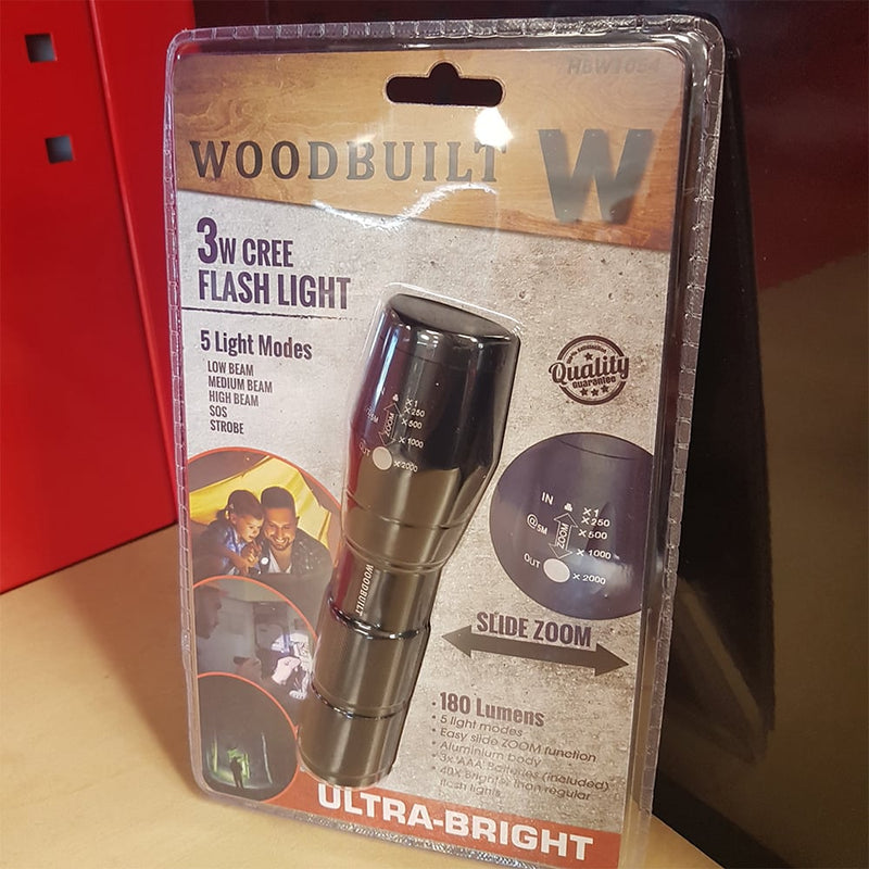 WOODBUILT CREE LED Flash Light