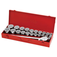 Trades Pro 3/4Dr 27Pc Combination Socket Set