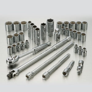 "POWERBUILT 3/8"" Dr 39pc Combination Socket Set-Socket Set-Powerbuilt-Herbos Equipment Limited"