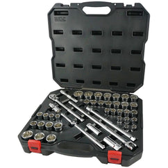 Powerbuilt 1/2Dr 44Pc Combination Socket Set