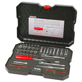 "POWERBUILT 1/4"" Dr 58pc Combination Socket Set-Socket Set-Powerbuilt-Herbos Equipment Limited"
