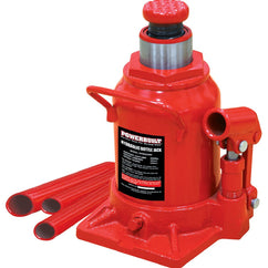 Powerbuilt 20000kg / 22 Ton Shorty Bottle Jack-Trolley Jack-Powerbuilt-Herbos Equipment Limited