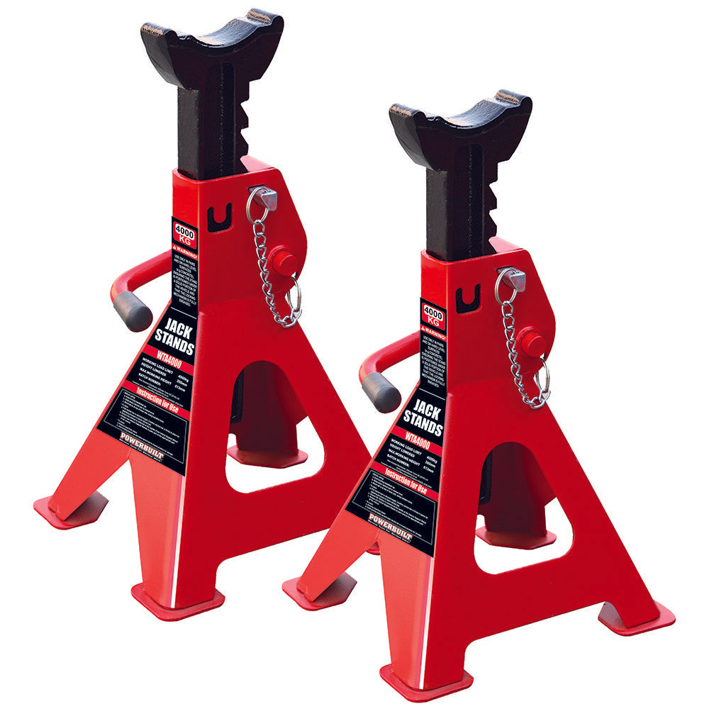 Powerbuilt 4.4 Ton / 4000kg Axle Stands-Axle Stands-Powerbuilt-Herbos Equipment Limited