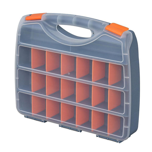 Trades Pro Sorting Box With 18 Dividers