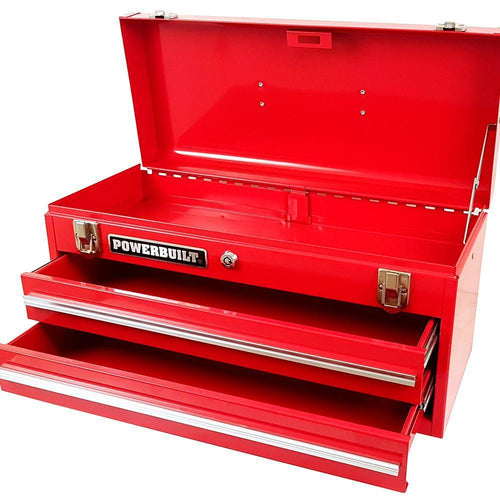 Powerbuilt 2 Drawer Portable Tool Box