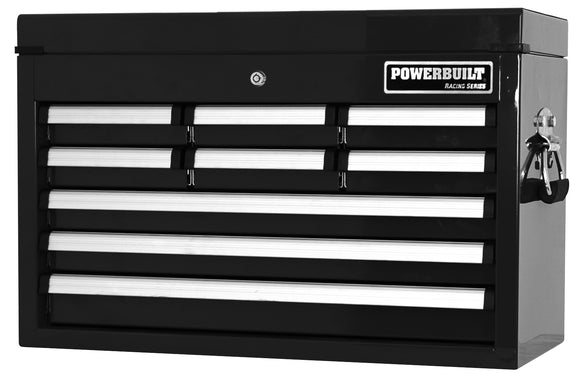9 Drawer Tool Chest – Racing Series- BLACK