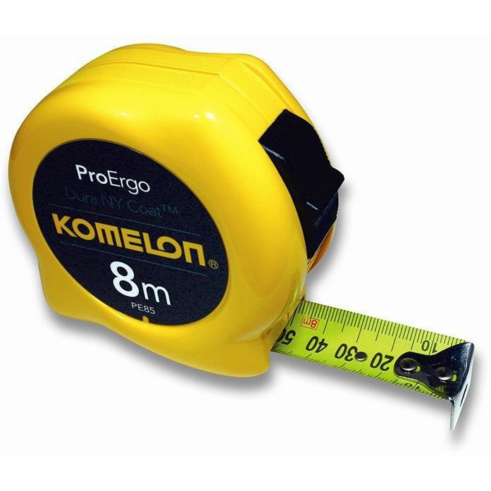 KOMELON ProErgo Pocket Tape 8mx25mm-Tape Measure-Komelon-Herbos Equipment Limited