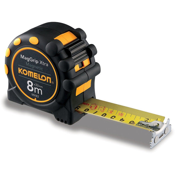 KOMELON MagGrip Xtra 8mx32mm-Tape Measure-Komelon-Herbos Equipment Limited