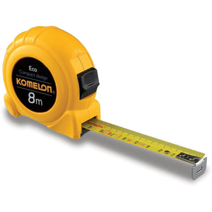 KOMELON 8mx25mm ECO Pocket Tape-Tape Measure-Komelon-Herbos Equipment Limited