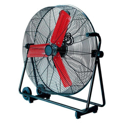 Powerbuilt 76Cm High Velocity Floor Fan