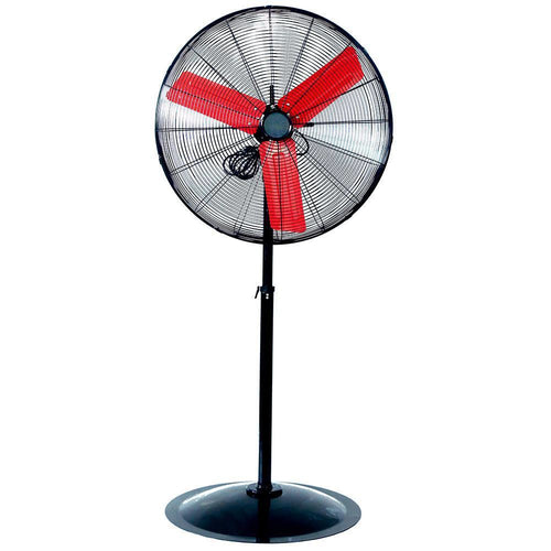 Powerbuilt 76Cm High Velocity Pedestal Fan