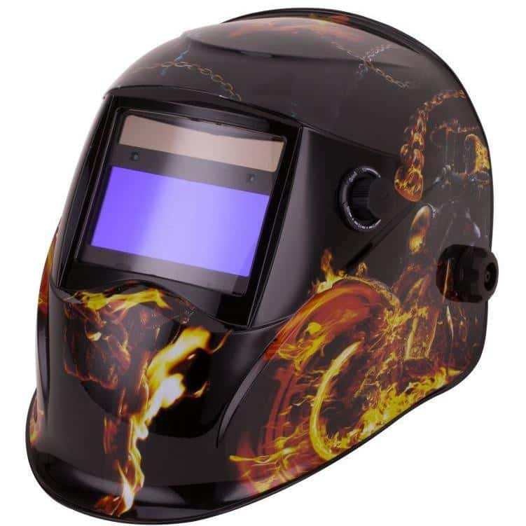 POWERBUILT WELDSAFE Gold Auto Welding Helmet-Welding Helmet-Powerbuilt-Herbos Equipment Limited