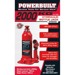 Powerbuilt 2.2Ton / 2000Kg Bottle Jack