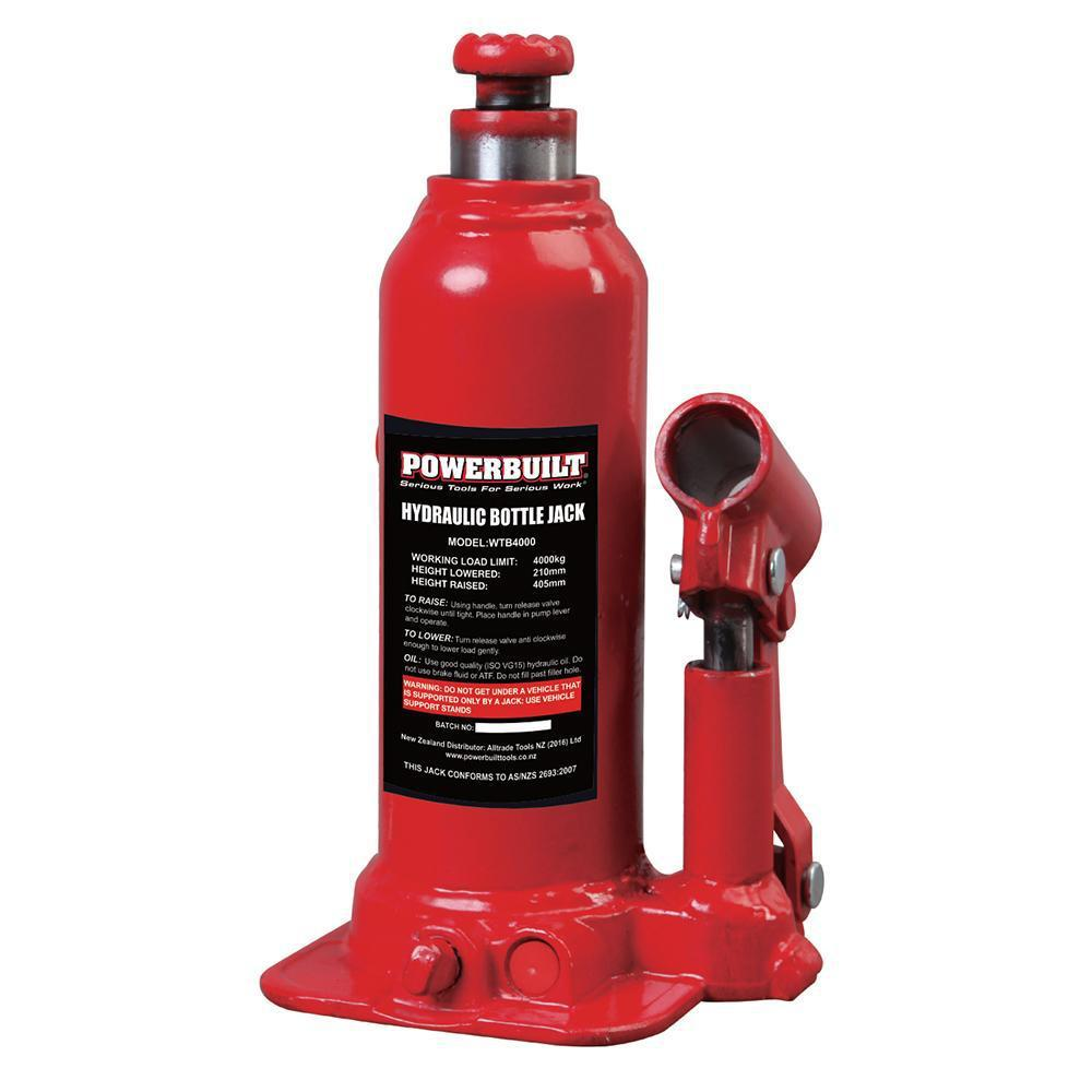 Powerbuilt 4.4Ton / 4000Kg Bottle Jack