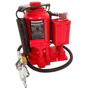 Powerbuilt 22Ton / 20000Kg Air Hydraulic Bottle Jack