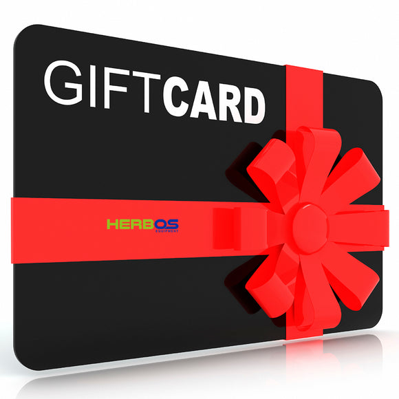 Herbos Equipment Gift Card $10, $25, $50, $100 or $500