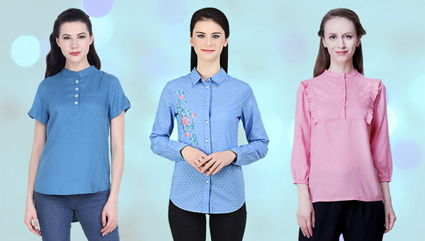 Get ready for the head turning formal blouse's coming  your way!