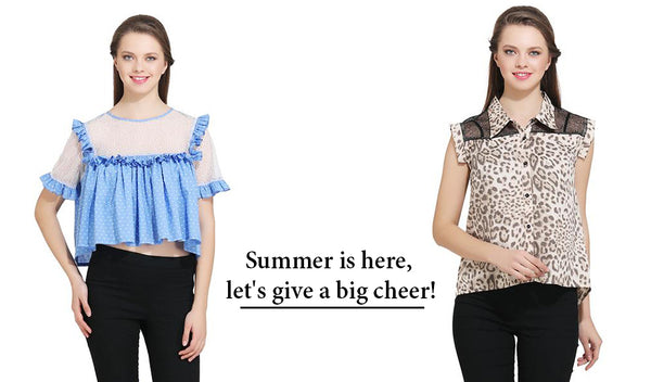 Summer is here, let's give a big cheer!