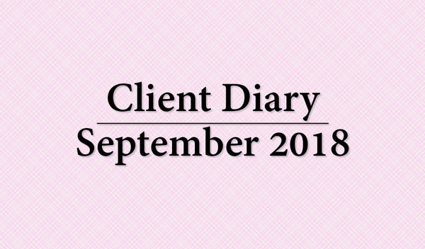 Client Diary September 2018