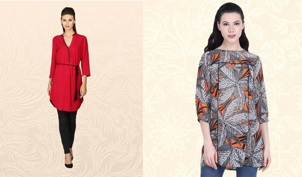 Tunics and Kurtis, Every Woman's Go to Wear!