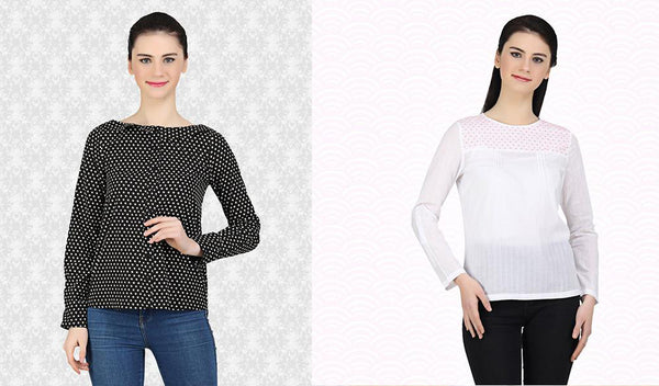 Bored of your cliched office blouses? It's time for a change then!