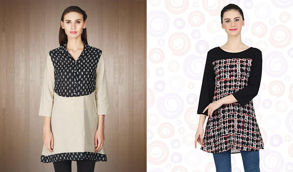 Au Courant Tunic Tops and Kurtis Your Wardrobe Needs.