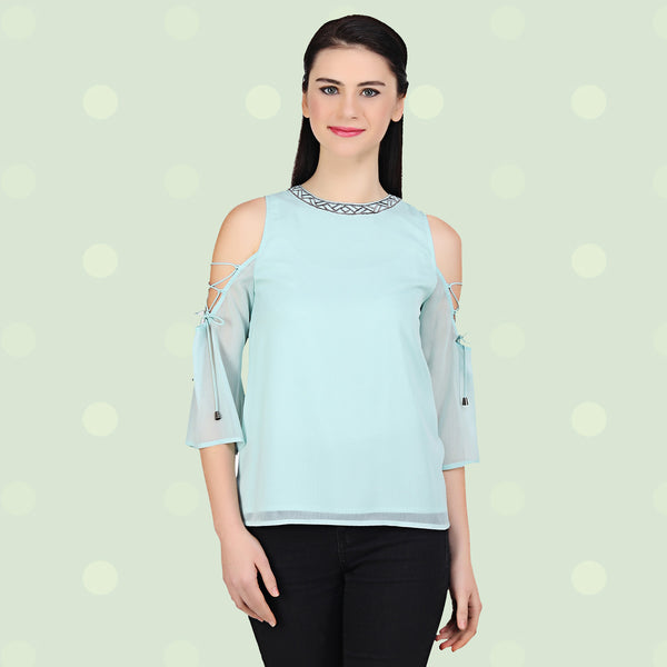 f100af5299a28e Fashion Flair of Cold Shoulder Tops – MissGudi