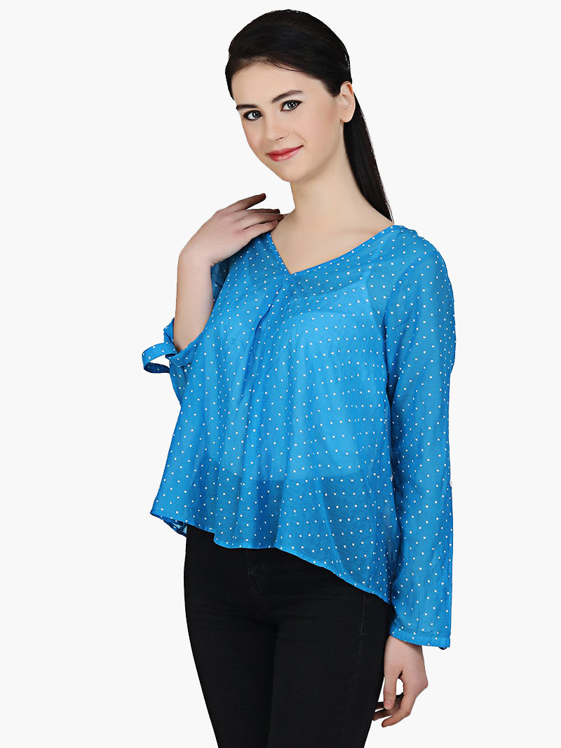 Cotton Dotted Top - MissGudi