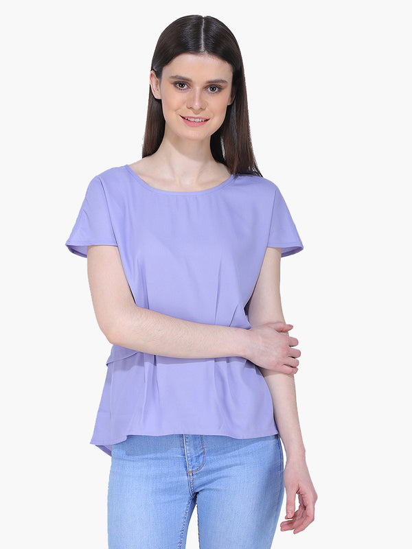 Light Purple Woman Top - MissGudi