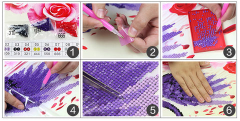 Instructions Broderie Diamant