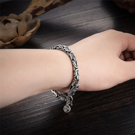 Bracelet Dragon à Double Tête