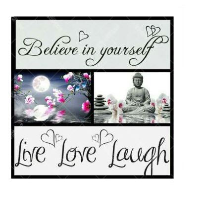 "Kit Broderie Diamant ""Believe In Yourself"""
