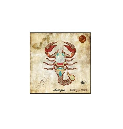 "Kit Broderie Diamant ""Signe du Zodiaque"" - scorpion"