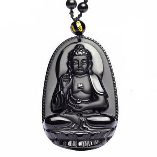 collier-et-amulette-protection-de-bouddha-en-obsidienne-noire-8-modeles-disponibles