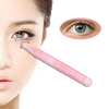 Bâton de Massage Yeux en Quartz Rose