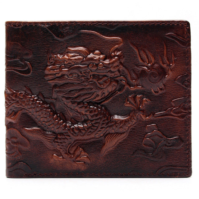 "Portefeuille Vintage ""Dragon Chinois"""