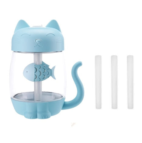 Humidificateur d'Air en Forme de Chat